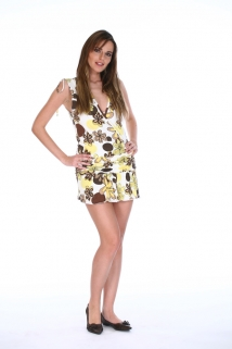 Mogul Kleid Poppy  Allover Print