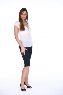 Mogul Bluse Tilly Bluse in white