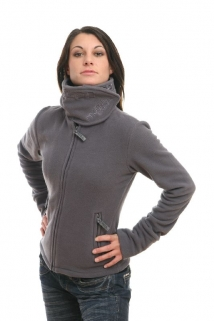 Mogul Fleece Jacke Payana grey