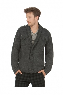 Mogul Strick Jacke Leverett Wool Mix