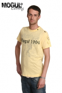 Mogul Shirt T-Perry Flamme Vanille