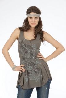 Mogul Kleid Liliana Viscose Cypress