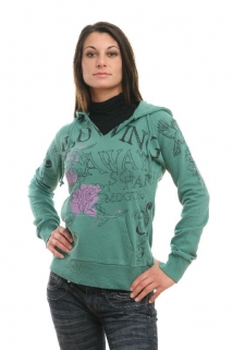 Mogul Sweat Hoodie Disha lucky green