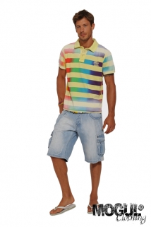 Mogul Shirt Stripes Rich Jersey Sun
