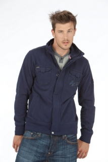 Mogul Jacke Marek Heavy Sweat Dark Blue