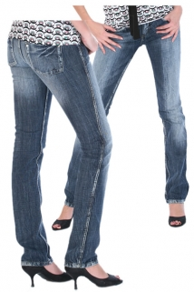 Mogul Alissa Super Low Rise - Slim Fit Jeans