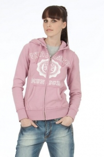 Mogul Sweat Jacke Girl Sporty Rose'