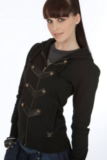 Mogul Conny Sweat Jacke Black
