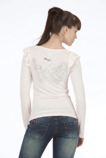 Mogul Shirt Viscose Hella Light Rose'