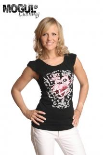 Mogul Shirt Liv Jersey Black