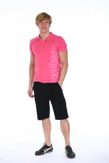 Mogul Shirt Polo-Typo Pink