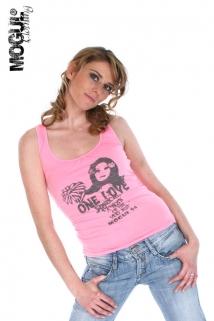 Mogul Shirt Jamaica Jersey - Neon Pink