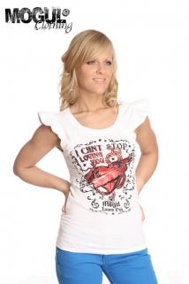 Mogul Shirt Liv Jersey white