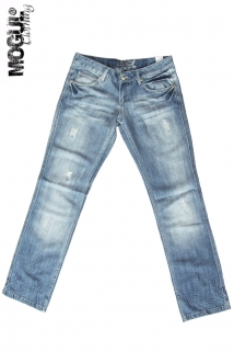 Mogul Hose Acqua Denim+Lurex starlet