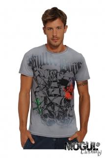 Mogul Shirt T-Bones Rich Jersey Grey